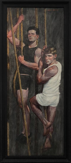 [Bruce Sargeant (1898-1938)] Two Friends Learning the Ropes