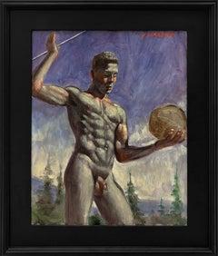 [Bruce Sargeant (1898-1938)] Exercising En Plein Air