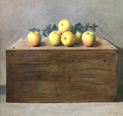 Still-life, apples