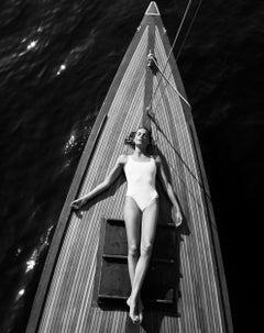 Daria Werbowy #23 - Silver Gelatin,  Black & White, Photography, Mikael Jansson