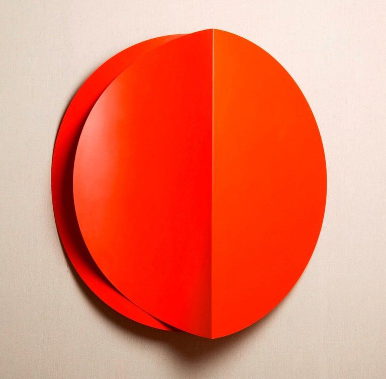 Louis Teicher Abstract Sculpture - Eclipse Series VI
