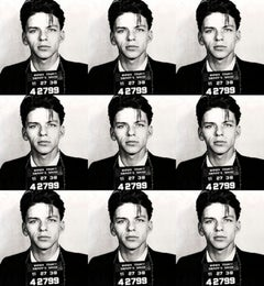 Frank Sinatra Mugshot - Limited Edition Giclée Print on Canvas