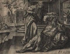 Story of Tobias - Set of 6 Plates - 1579 Old Master Engravings Religious