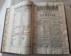 1629 Complete Cambridge Bible King James First Edition Folio Engraving