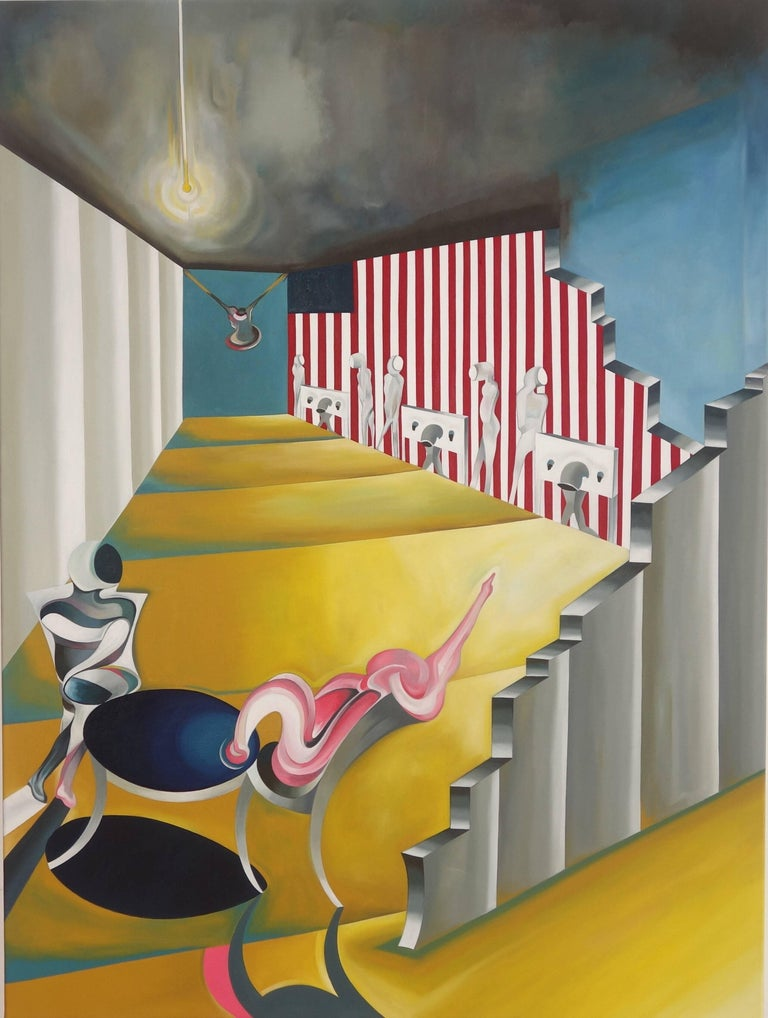 The American Series.  Wailing Wall Blues by Thomas Dowdeswell 21st Century Art