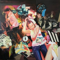 With Rauschenberg 21st Century Surreal Art by Ada Lungh