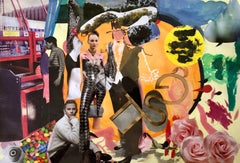 Collage 1 by Ada Lungu Contemporary 21st Century Artist European Painting