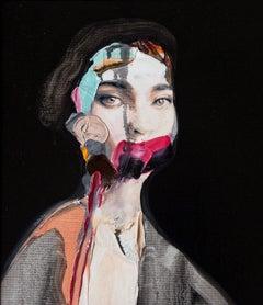 Poise by Vladinsky 21st Century Contemporary Portrait Pop Art Romanian Artist
