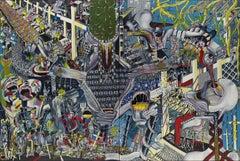 Modern Hell by Thomas Dowdeswell Contemporary 21st Century European British Art