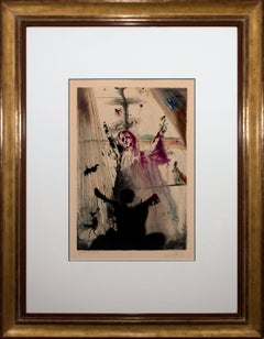"""""""I have set before thee..."""" Limited Hand-Signed Lithograph by Salvador Dali"""