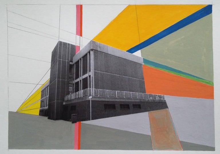 CORDUROY BUILDING - BRUTALIST - MODERNIST - ARCHITECTURE