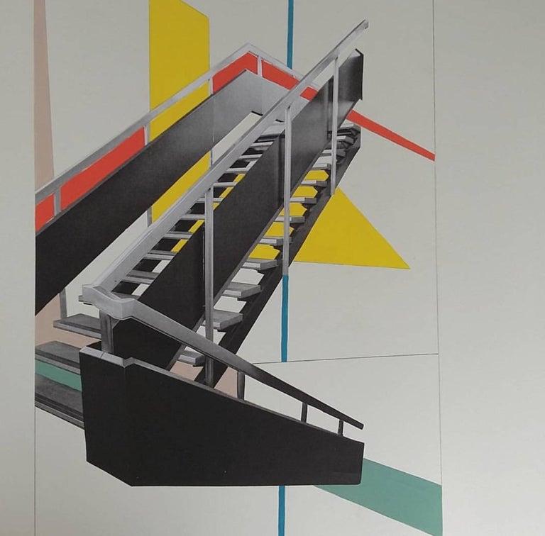 ART BLOCK STAIRS, SHEFFIELD - BRUTALIST - MODERNIST - ARCHITECTURE - STAIRCASE