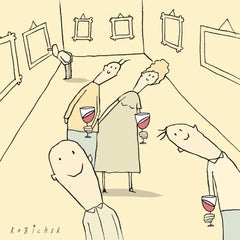 THE ART OF LOOKING @ ART - ILLUSTRATION ART - COMEDY - HUMOUR - WHIMSICAL