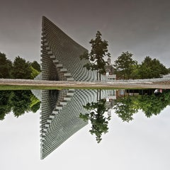 BJARK INGELS INVERTED PUDDLE REFLECTION, LONDON
