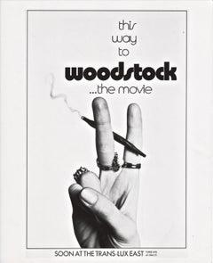 WOODSTOCK - VERY RARE - UNSEEN - MOVIE - STILL - FLOWER POWER - JOINT - PEACE