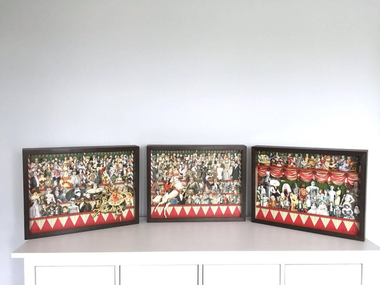 One of the last remaining editions of the 3D Circus works by Sir Peter Blake