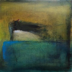 No 11: minimal oil painting on board, reminiscent of Turner
