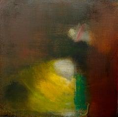 Calisto Sinope: Minimal Oil Painting on Board, reminiscent of Turner