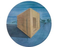 One's Lot in Life: Round Perspective Drawing/Painting about Imaginary Spaces