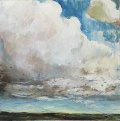 Redwings & Fieldfares (Westerdale): Oil Painting by Sara Dudman RWA