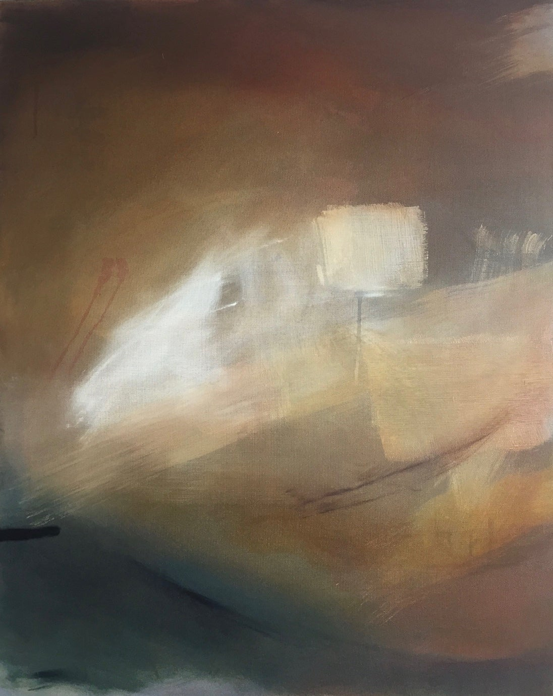 Dawn: Oil painting on canvas by Robinson and McMahon Collaboration