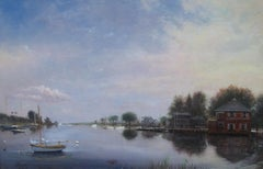 View of Southport Harbor, Connecticut