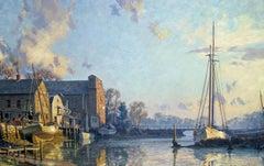 Greenwich , The Lower Landing, Cos Cob, 1895