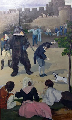 """They """"Bearly"""" Escape Through France Outside Carcassone"""
