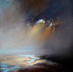 Ethereal Light original abstract painting