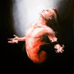 Exodus original figure painting
