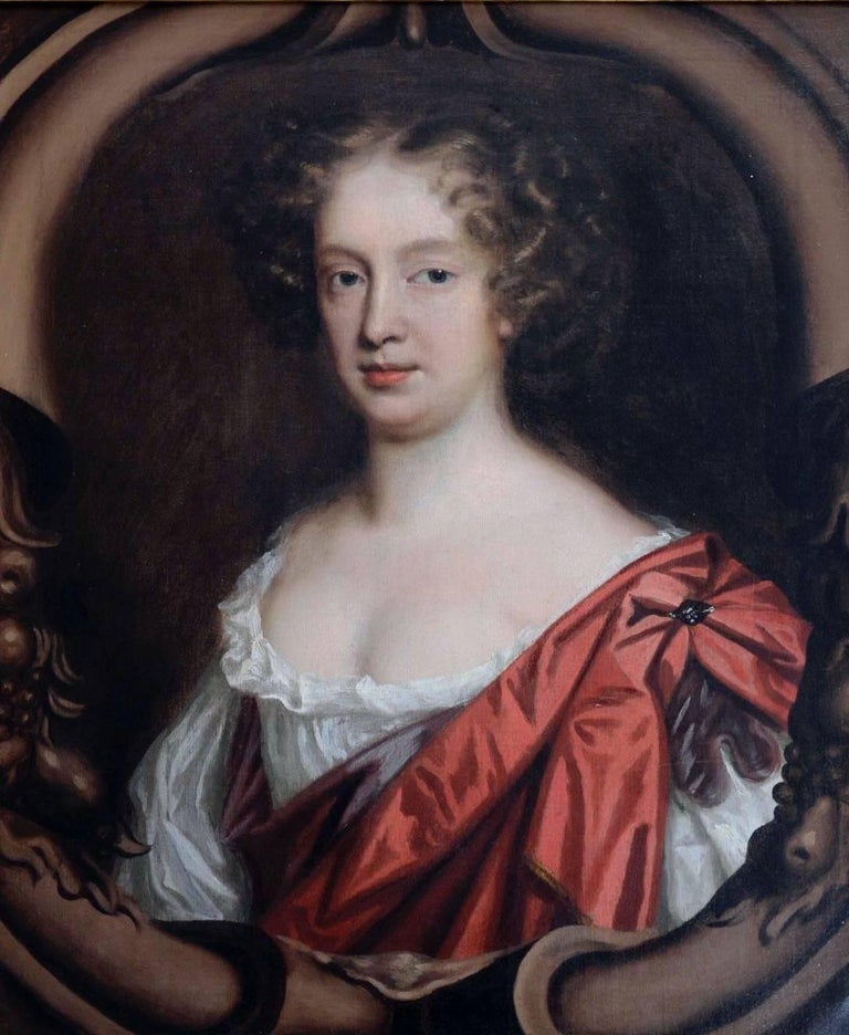 Mary Beale Portrait Painting - Self-Portrait of the Artist, English, 17th century.
