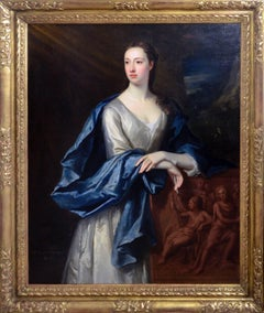 Jonathan Richardson, the Elder - The Poet Judith Madan (1702-1781)