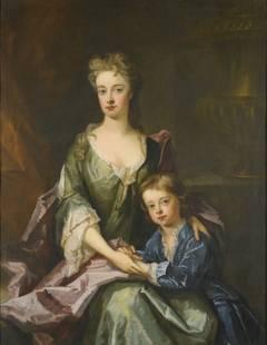 Lady Henrietta Churchill and her son William