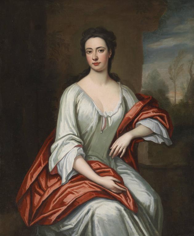Enoch Seeman Portrait Painting - Portrait of a Lady