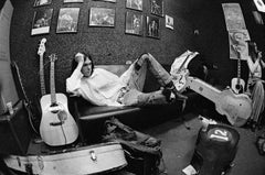 Neil Young backstage