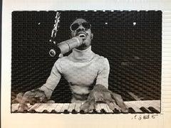Stevie Wonder Rehearsing
