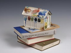 Pallet House Book Jar