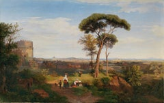 View of Rome from the Tomb of Cecilia Metella