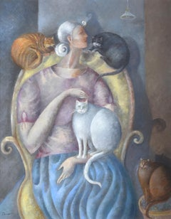 'The Cat Woman' by Elizabeth Taggart