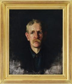Portrait of a Blonde Man