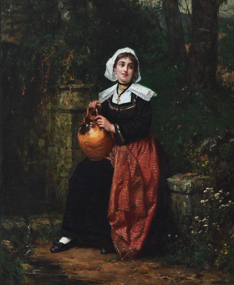 Girl with a Water Jug