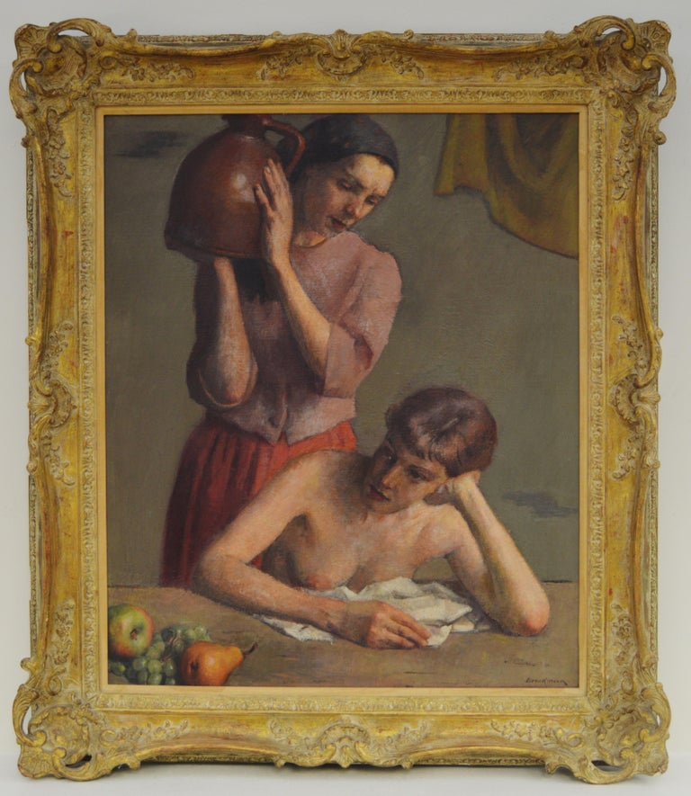 Two Women with Jug