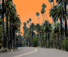 Beverly Drive 3 (this is a large canvas; see ABOUT for smaller gallery editions)