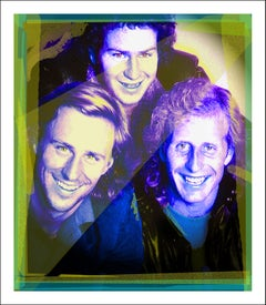 John McEnroe, Bjorn Borg, Vitas Gerulaitis at Studio 54 v1 (see details below)