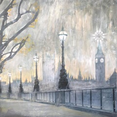 Painting on canvas London by Vova Zayichenko