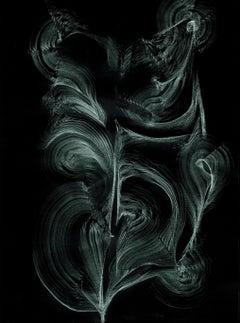 Superior quality new media digital print based on graphite drawing 120x80cm