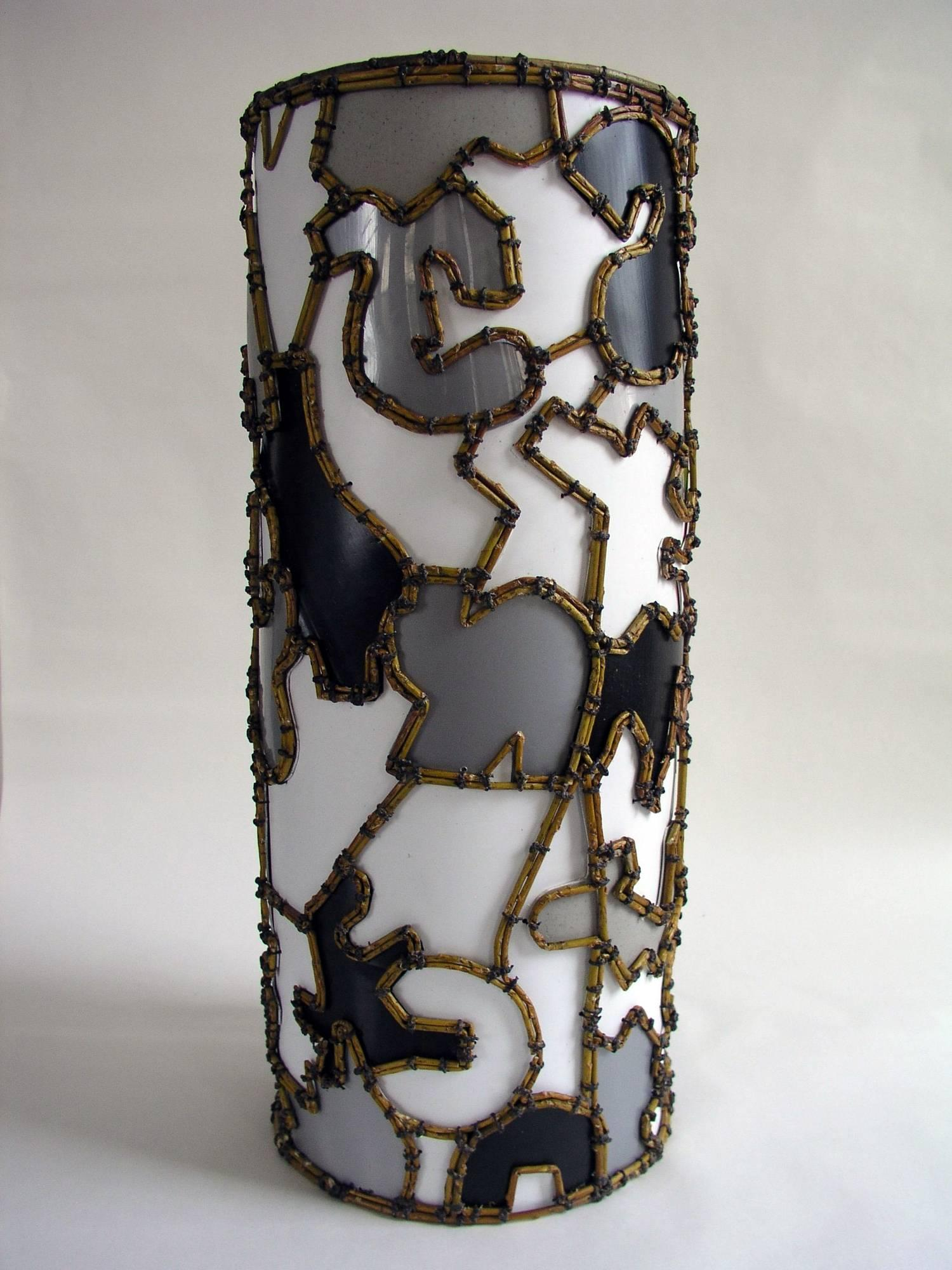 """""""Patches"""", Mixed Media Sculpture"""