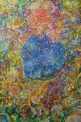 Rise of the Numinous by Ethan Meyer, Colorful Abstract Painting on Canvas