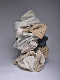 """""""Tempest"""", Contemporary, Porcelain, Sculpture, with Pigment"""