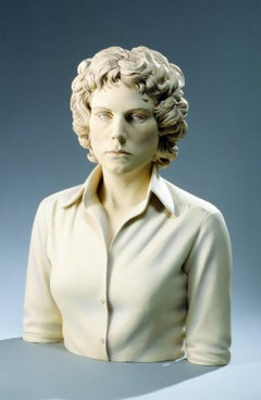 """""""Contemporary Woman"""", Ceramic Sculpture Painted with Acrylics"""